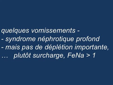 proteinurie 0 13 grossesse cas clinique nephrologie