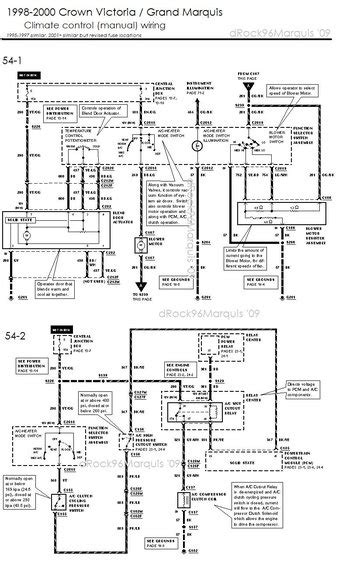 2000 mercury grand marquis interior wiring diagrams
