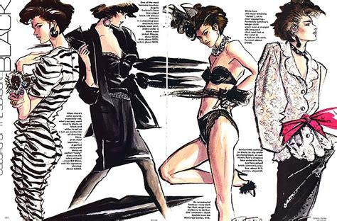 Industrial Vanity Light Antonio Lopez Fashion Illustration 7 Trendland