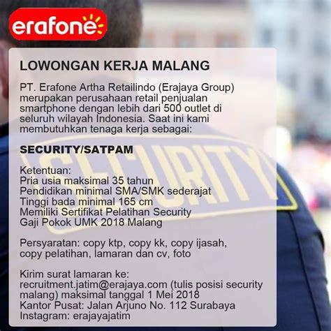 Lowongan Kerja Security lowongan kerja security satpam home