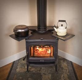 wood stove  cooktop  large window perfect