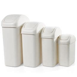 bathroom trash can with swing lid the container store gt swing lid cans new apartment
