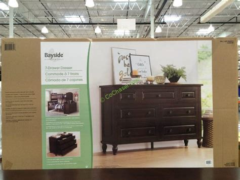costco home decor costco 4560013 bayside furnishings dresser box costcochaser