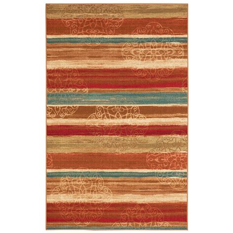 mohawk rainbow rug mohawk home mumbai rainbow multi 5 ft x 7 ft area rug 001320 the home depot
