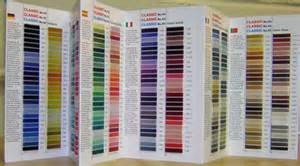 madeira thread color chart madeira polyneon 412 colors to choose from