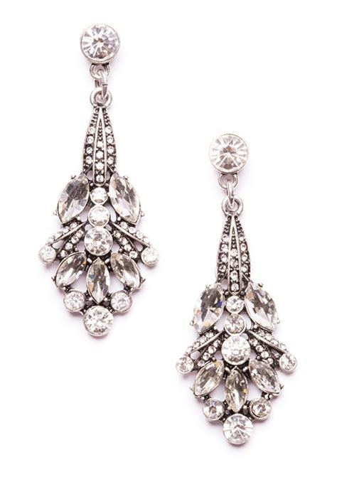 Earring Chandelier Winter Chandelier Earrings Happiness Boutique
