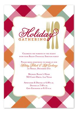 letter inviting college staff to christmas holiday potluck potluck invitations by invitation consultants ic rlp 1782