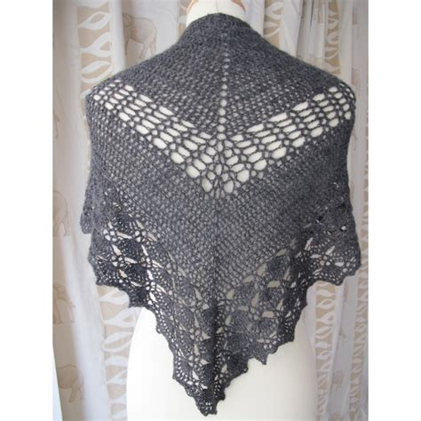 summer breeze crochet shawl annette petavy design