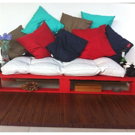 cute futons cute idea made with painted pallets and futon mattress
