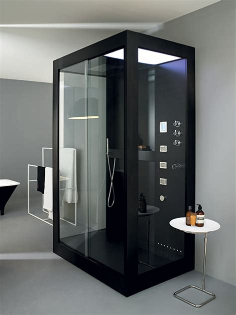 Bathroom Shower Cabins Bathroom Decorating Aluminum Shower Cabin Avec By Kos Bath Accessories Italy