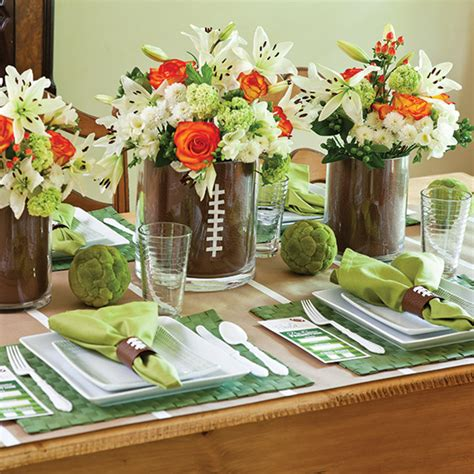 football party table paula deen magazine