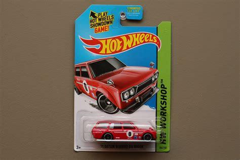 Hotwheels 71 Datsun Bluebird wheels 2014 hw workshop 71 datsun bluebird 510 wagon