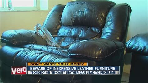 how to stop a leather couch from peeling woman s leather couch peels apart after 3 years