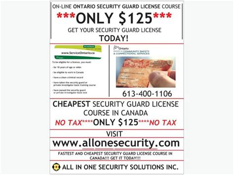 Security Officer License by Security Guards Wanted Get Your License Hamilton Hamilton