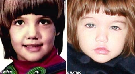 Does Suri Cruise Look Like Chris Klein by Revealed Photo Of Aged 2 And Guess Who She