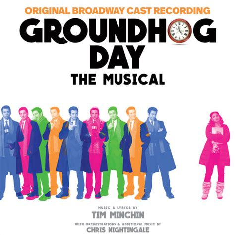 groundhog day characters groundhog day original broadway cast recording