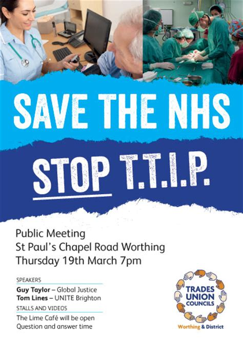 save  nhs stop ttip unison west sussex