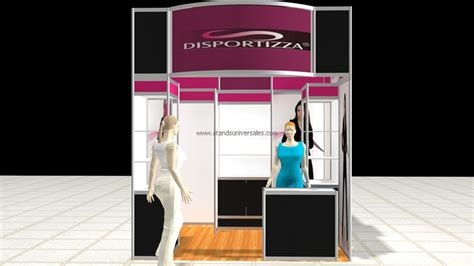 Stand 3 X 3 stands para expos de 3x3 sistema octanorm stands universales