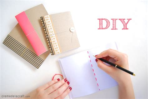 How To Make Paper Notebook - 10 ups of diy journals rubbishlove