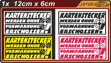 Scheiben Aufkleber Nix Karte by Nix Verkaufen Autoh 228 Ndler Tuning Car Sticker Auto