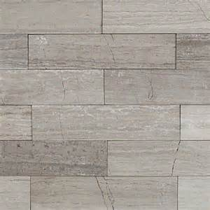shop 9 pcs sq ft wooden beige 2x8 brushed stone tile at