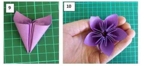 Sticky Note Origami Flower - sticky note origami flower via craft rainy day crafts