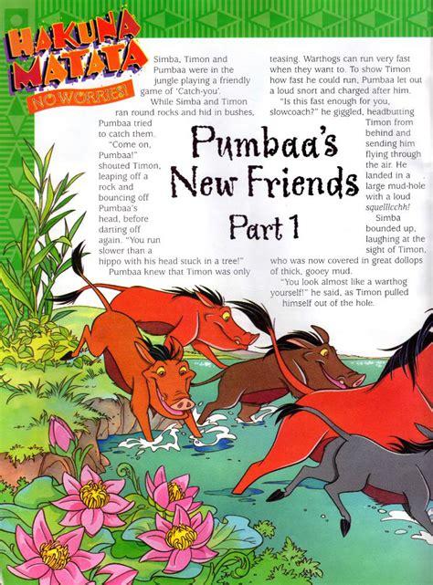 Mba Jungle Magazine by Category The Hakuna Matata Magazine Series The King
