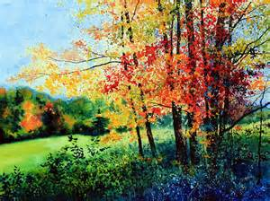 fall color by hanne lore koehler