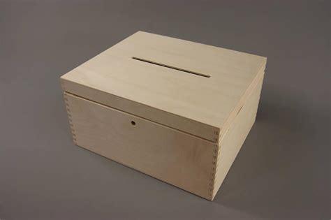 Wooden Wedding Gift Card Box - lockable plain wood wooden box decoupage wedding cards 29 x 25 x 15 cm p29 15 o ebay