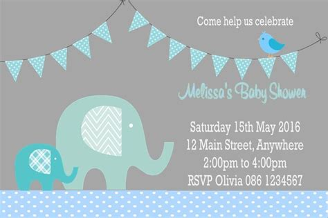 Personalised Baby Shower Invites by Personalised Baby Shower Invitations Picture Ideas