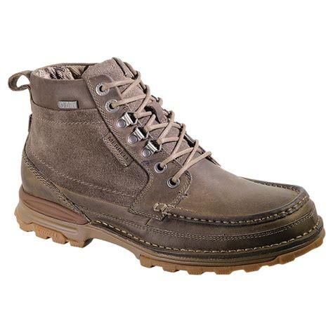 merrell work boots s merrell nobling waterproof chukkas 583684 work