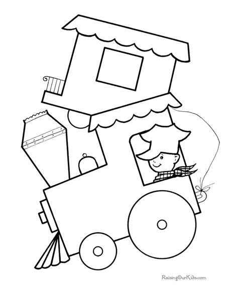 Printable Preschool Coloring Pages 005 Preschool Printable Coloring Pages