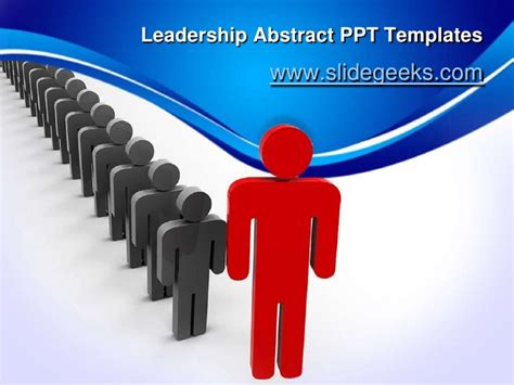 Leadership Abstract Ppt Templates Leadership Powerpoint Template