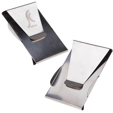 stainless steel money clip card holder stainless steel money clip sided note credit