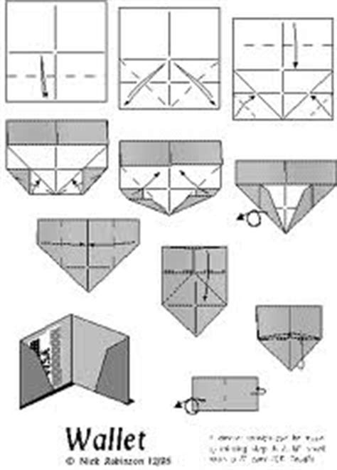 How To Fold A Wallet Out Of Paper - best 25 origami wallet ideas on diy origami