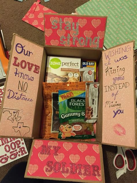 Gift Ideas For Soldiers - the idea for a care package for that special