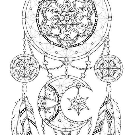 coloring pages for adults dreamcatchers dreamcatcher coloring pages adult coloring book printable