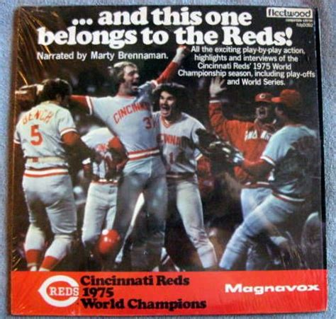 Cincinnati Records Lot Detail 1975 Cincinnati Reds World Chions Record Album