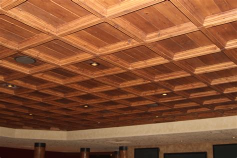 Wood Drop Ceiling Classic Coffers Suspended Wood Ceiling Historic Timber