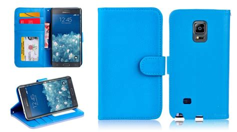 Samsung Galaxy Note Edge Wallet Cover Original 100 F Limited new leather id wallet cover for samsung galaxy note