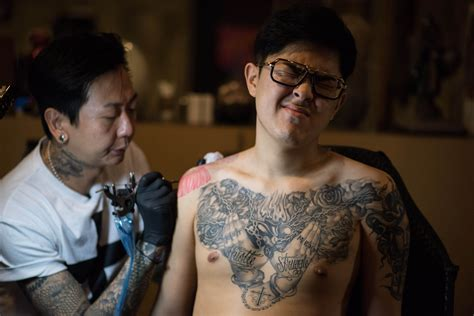 korean tattoo artist south korea s outlaw artists starting to find a