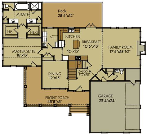 2 story farmhouse floor plans two story farmhouse plan 92335mx 1st floor master