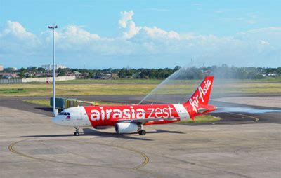 airasia zest flights airlines using the klia2 airport terminal kuala lumpur