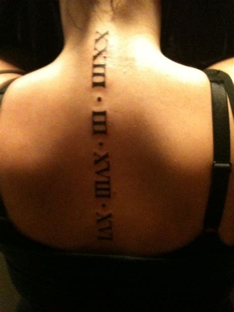 roman numeral tattoos meaning numeral tattoos designs ideas and meaning tattoos