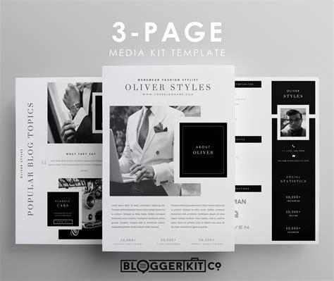 Dapper Media Kit Templates Tips Media Kit Template Media Kit Press Kit Free Press Kit Template