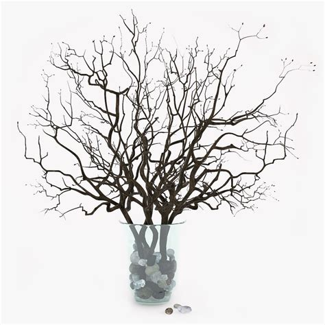 3d model decor branch vase