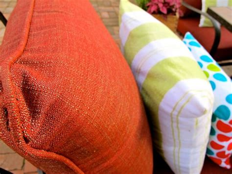 How To Clean Cushions by Patio How To Clean Patio Cushions