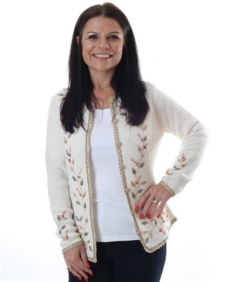 Embroidered Cardigan alpaca embroidered cardigan in alpaca clothing co range
