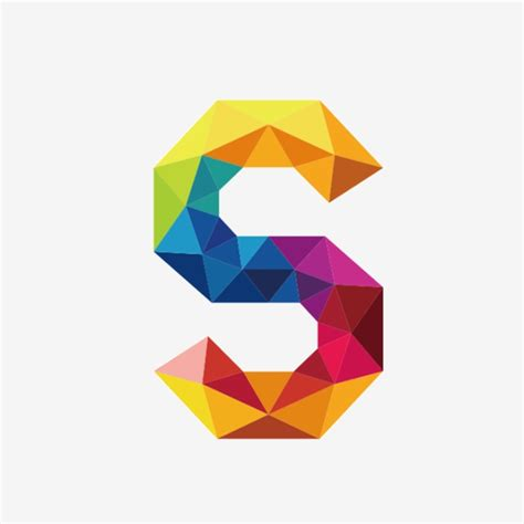 colorful letters colorful letters s letter colorful png image and