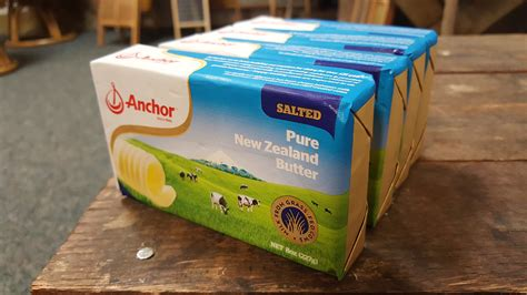 Butter Anchor Unsalted By Tokoyeye anchor butter new zealand unsalted pack of 4